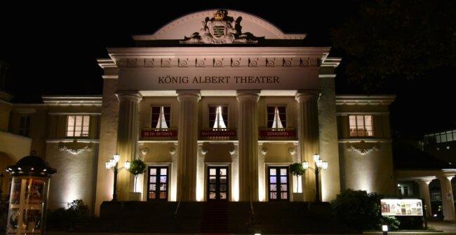 Im König-Albert-Theater sind bis 3. Mai alle Veranstaltungen abgesagt.