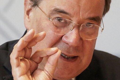 Der nordrhein-westfälische Ministerpräsident Armin Laschet (CDU)ist am Wochenende in Sachsen zu Gast.