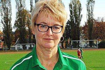 Kerstin Schnabel vom SV Merkur Oelsnitz ist Ehrenamtlerin des Jahres 2020 des Vogtländischen Fußball-Verbandes.