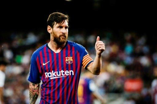 Lionel Messi erzielte gegen Eindhoven einen Hattrick