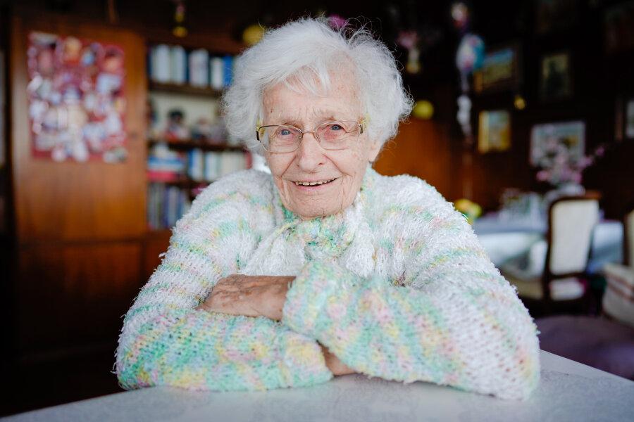 Lisel Heise (100) zieht in den Stadtrat von Kirchheimbolanden ein.