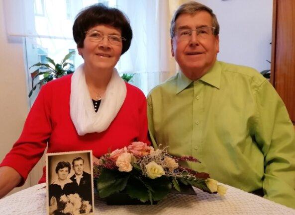 Roswitha und Erwin Wich hatten sich 1958 kennengelernt.