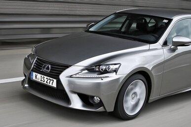 Der neue Lexus IS 300h.
