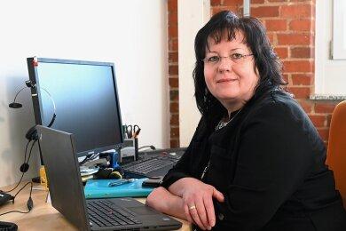 Silke Sünder von der Chemnitzer Software-Firma Cape IT will mehr Frauen für ihre Branche begeistern.