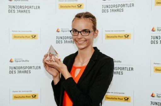 Lea-Jasmin Riecke ist die Juniorsportlerin des Jahres