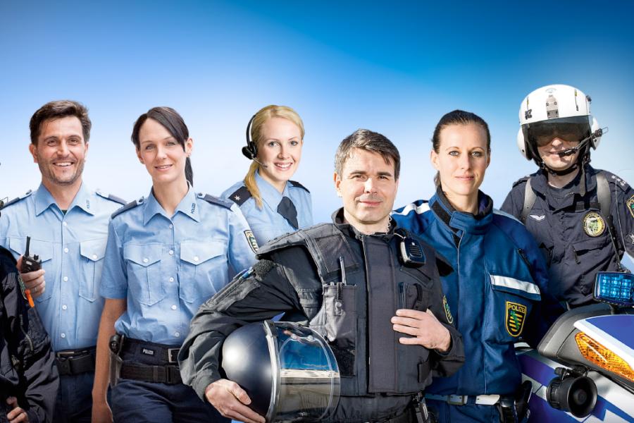 Polizist/-in in Sachsen - Ein Beruf der alles bietet - nur keinen Alltag