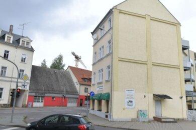Um dieses Eckhaus an der Schönlebe-/Berthelsdorfer Straße war gestritten worden.