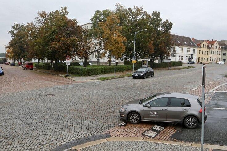 Wie soll der Platz aussehen, wo Hospitalstraße und An der Steilen Wand zusammentreffen? Anwohner haben klare Vorstellungen.