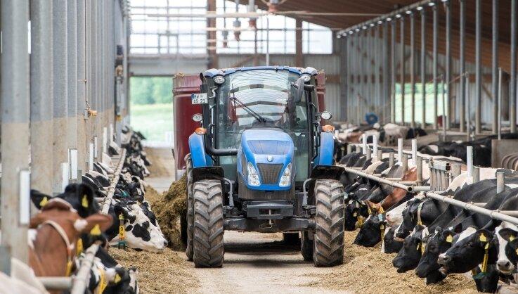 Im Bereich der Milchviehanlage der Agraset in Erlau plant die Bürgerenergiegenossenschaft eine Anlage zur Wasserstoffproduktion.
