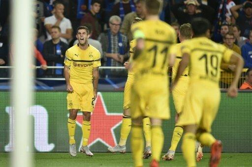 Dank Christian Pulisics Glückstreffer siegt Dortmund