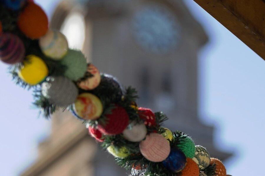Das Osterfest wird in den Kirchen der Region vielfach mit Gottesdien-sten gefeiert.