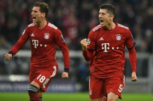 Robert Lewandowski lässt die Bayern jubeln