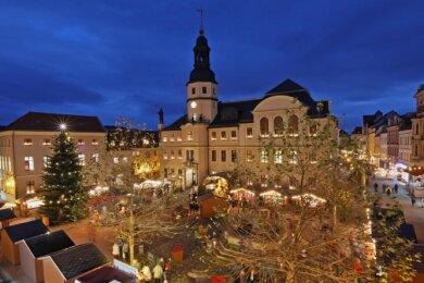 Der Bummel über den Weihnachtsmarkt entfällt dieses Jahr in Crimmitschau. Die Stadtverwaltung hat die Veranstaltung abgesagt.