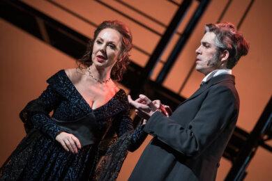 """""""Der Graf von Monte Christo"""" (Foto) des Mittelsächsischen Theaters konnte bisher nur einmal aufgeführt werden. Die """"Csárdásfürstin"""" wird um ein ganzes Jahr verschoben."""