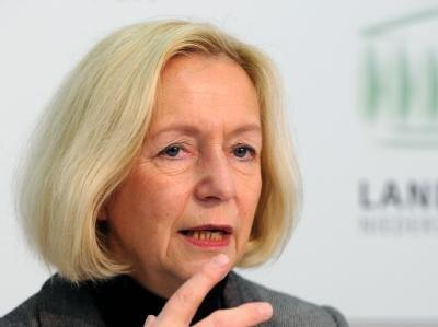 Die niedersächsische Wissenschaftsministerin Johanna Wanka (CDU) wird neue Bundesbildungsministerin.