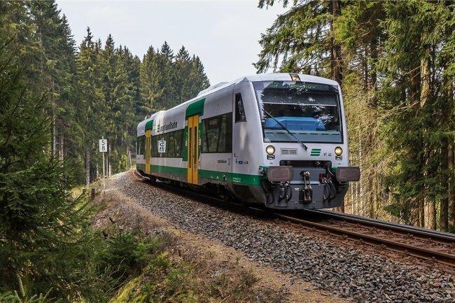 Die Vogtlandbahn speckt ihr Angebot ab 1. April aufgrund der Coronakrise ab.
