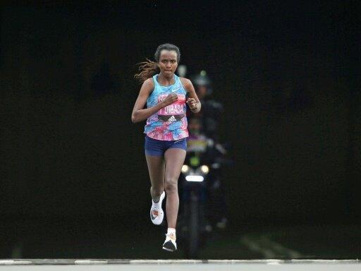 Tirunesh Dibaba startet beim Berlin-Marathon