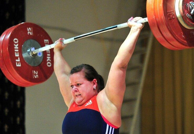 Kathleen Schöppe gehörte über ein Jahrzehnt zu den erfolgreichsten Gewichtheberinnen in Deutschland, gewann unter anderem zwei EM-Medaillen.