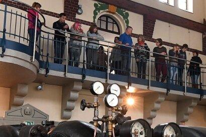 Das Wasserkraftwerk Mittweida, welches auch als Bildungsstätte genutzt wird, ist zur Museumsnacht ebenfalls geöffnet.