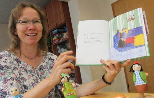 Astrid Kühnke bietet in Auerbach Familien Hilfe an - für Familien, in denen die Eltern unter Problemen leiden.