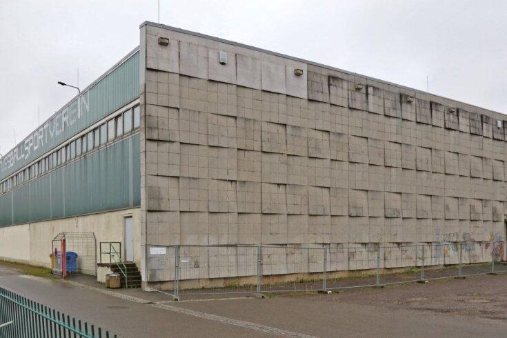 """Die Sporthalle """"Sojus"""" soll für 8,4 Millionen Euro saniert werden."""