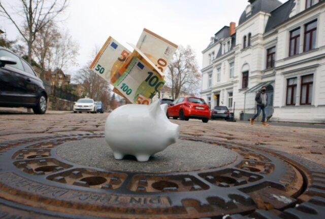 Grundstückseigentümer an der Lindenstraße haben sich an den Kosten für den Ausbau beteiligt. Sie können die Rückzahlung beantragen.