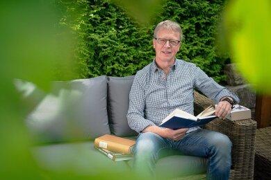Lust auf Geschichte und Geschichten: Thomas Kaulfuß aus Dresden genießt seine Altersteilzeit.