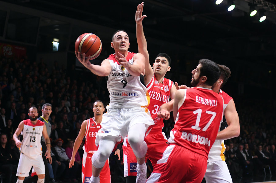 Deutschlands Basketballer starten in Chemnitz mit Sieg in WM-Quali