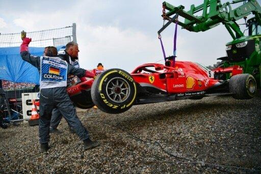 Zu viel Risiko bei Nässe: Vettel patzt in Hockenheim
