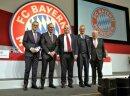 Die Führungsetage des FC Bayern rund um Uli Hoeneß