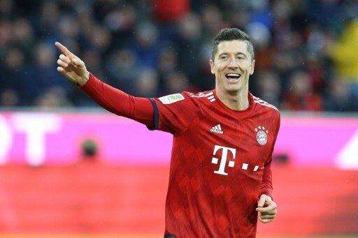 Lewandowski brachte die Bayern auf die Siegerstraße