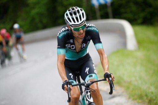 Buchmann kam bei der zweiten Etappe als Siebter ins Ziel