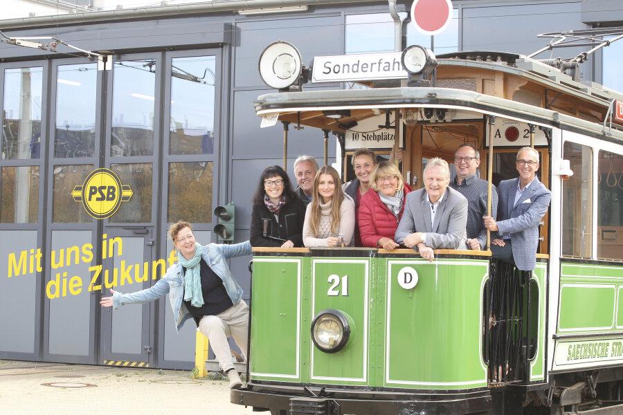 Im kommenden Jahr wird nicht nur das Plauener Spitzenfest 60, sondern auch die Plauener Straßenbahn begeht ein Jubiläum.