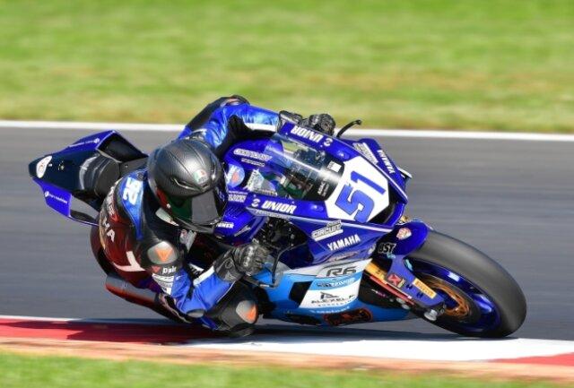 Aufgrund der Verletzung eines anderen Fahrers kam Max Enderlein in Most zu seinem zweiten Gastspiel in der Supersport-WM.