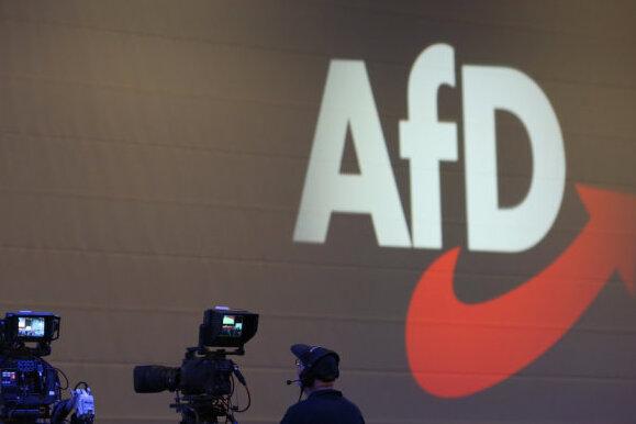 AfD-Parteibüro in Freiberg beschmutzt
