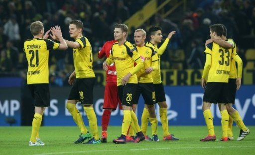 Der BVB machte gegen Sporting das Achtelfinale perfekt