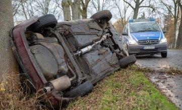 Ein 78-Jähriger wurde bei dem Unfall verletzt.