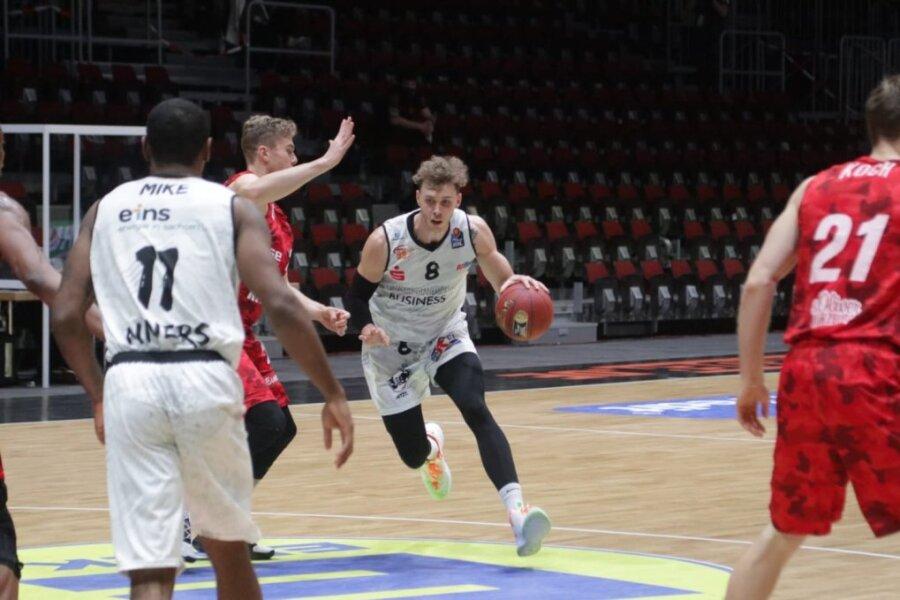 Niklas Wimberg in Aktion.