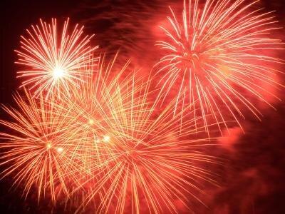Ein großes Feuerwerk wird es in Vaduz zum Liechtensteiner Staatsfeiertag geben.