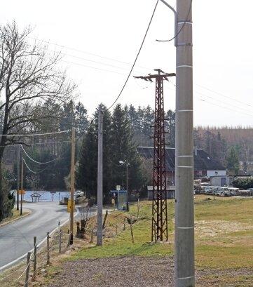 Die Modernisierung der Müdisdorfer Straßenbeleuchtung erfolgt auch mit Leader-Mitteln.