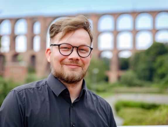 Johannes Höfer will für die Linke als Direktkandidat in den Bundestag einziehen. Als Vogtländer ist ihm das Engagement für die Göltzschtalbrücke besonders wichtig.