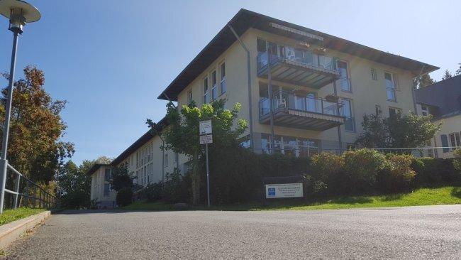 Das Pflegeheim Haus Ölbaum in Markneukirchen.