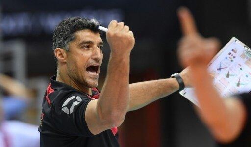 Andrea Giani sieht eine gute Leistung seines Teams