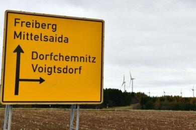 Der Windpark auf dem Saidenberg soll größer werden. Die Gemeinde Dorfchemnitz will drei neue Anlagen errichten lassen.