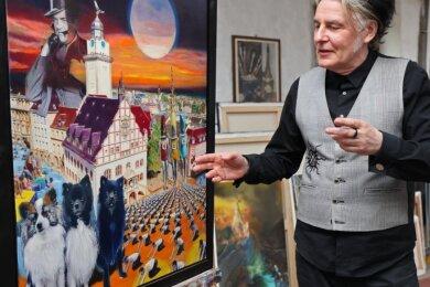Nächstes Jahr wird die Spitzenstadt 900 Jahre alt. Aus diesem Anlass will der Maler Thomas Beurich in Zusammenarbeit mit verschiedenen Autoren einen Jubiläums-Kalender herausbringen.