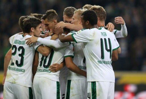 Borussia Mönchengladbach besiegt Frankfurt 3:1