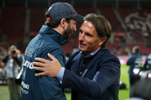 Labbadia und Baum: Remis beim Spiel Mainz gegen den VfL