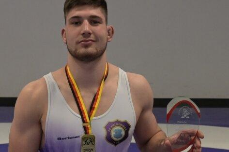 Connor Sammet vom FCE Aue ist Deutscher Meister.