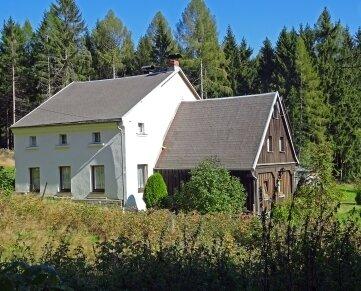Das Gasthaus zum Schimmel im Grenzgebiet zu Tschechien.