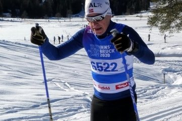 Holger Hanzlik während der Winter World Master Games 2020 in Seefeld.